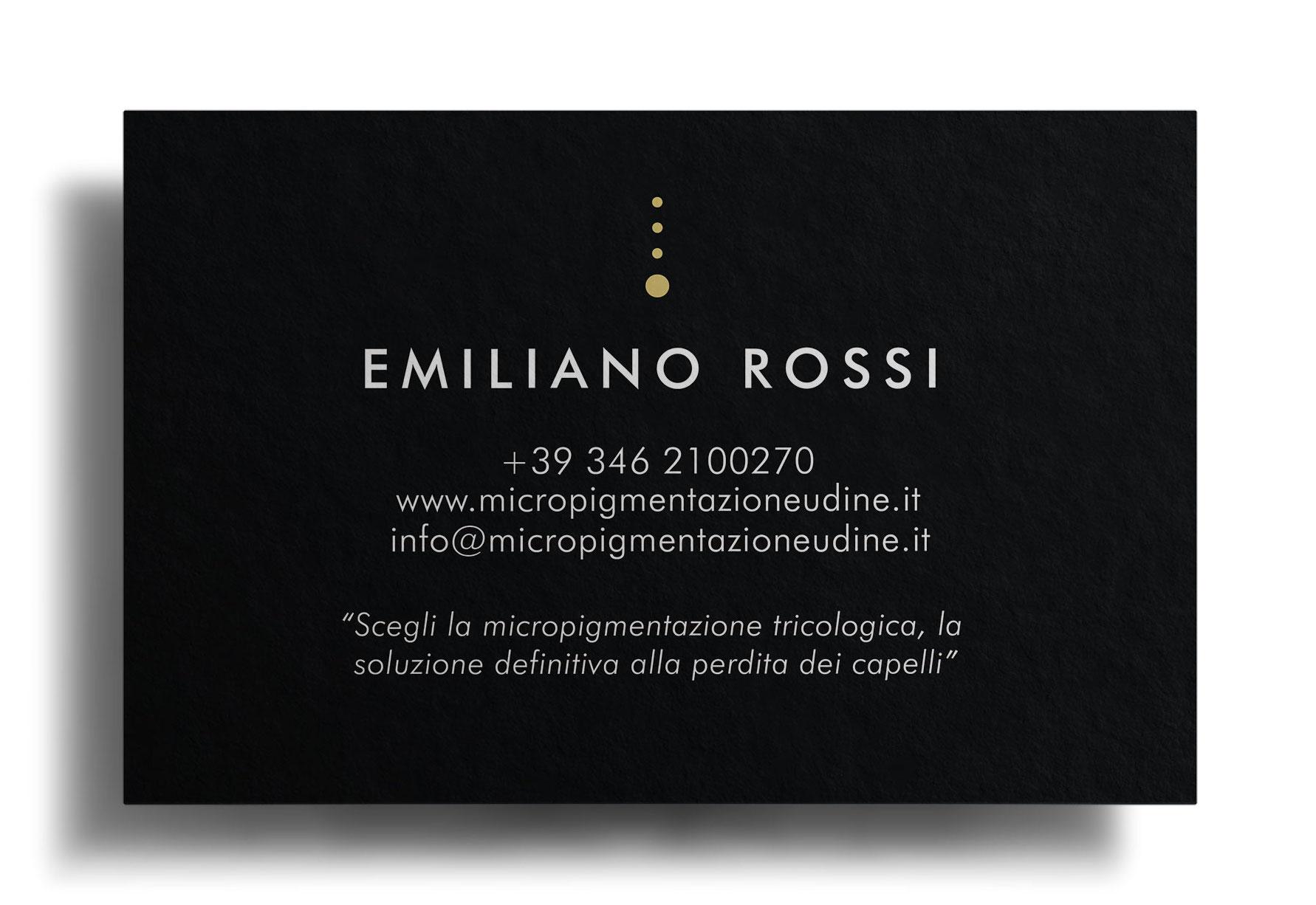 Biglietto da Visita E.R. Micropigmentazione